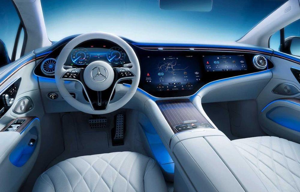 Noul Mercedes-Benz EQS va avea autonomie de 770 kilometri, susțin reprezentanții companiei - Poza 1