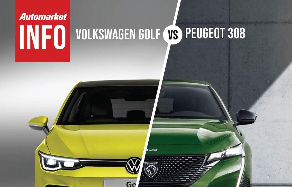 AUTOMARKET INFO: Comparație între Volkswagen Golf și Peugeot 308 - Poza 6