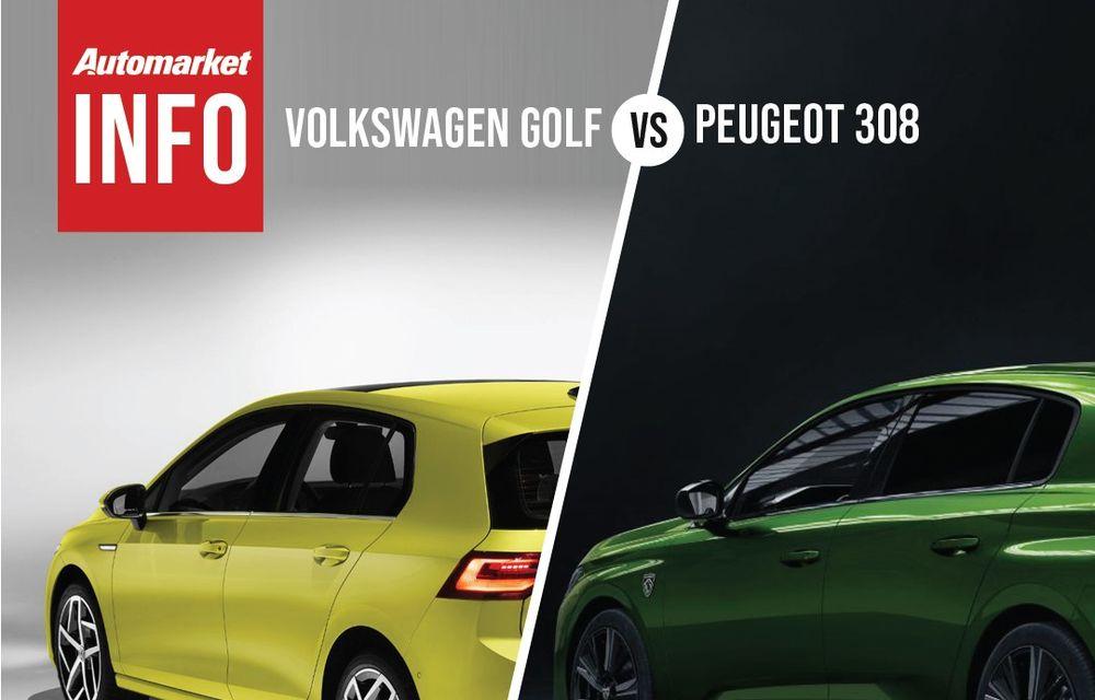 AUTOMARKET INFO: Comparație între Volkswagen Golf și Peugeot 308 - Poza 5
