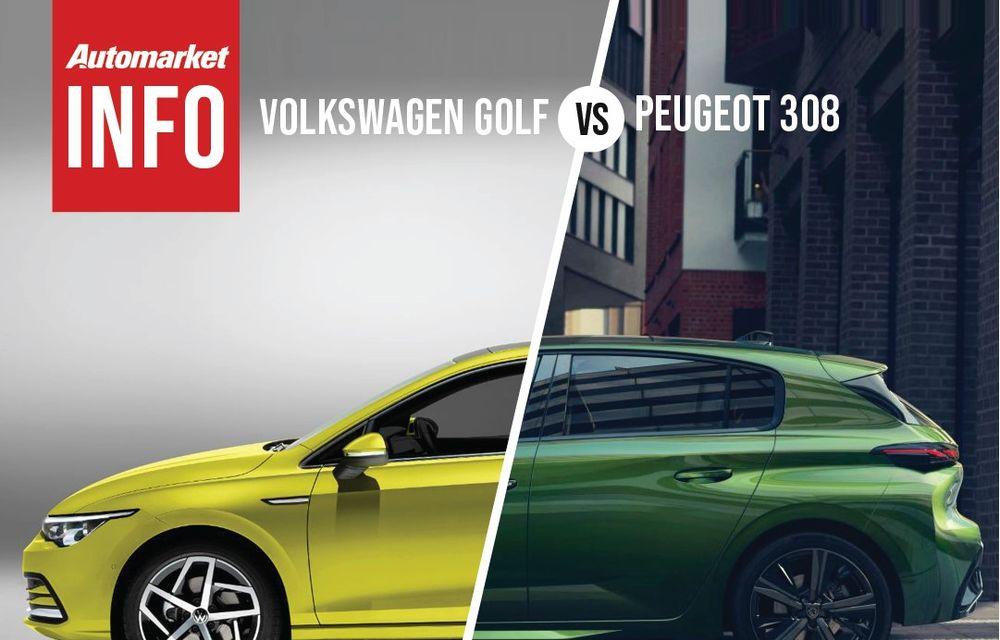 AUTOMARKET INFO: Comparație între Volkswagen Golf și Peugeot 308 - Poza 4