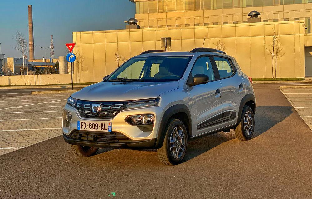 Test Drive Dacia Spring