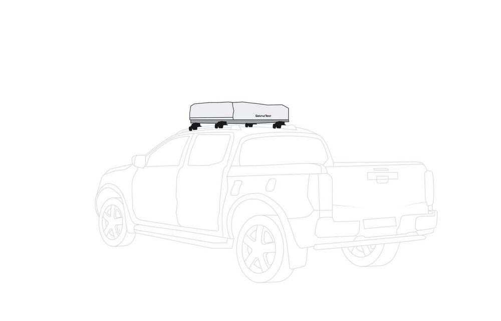 Mitsubishi comercializează în Germania un L200 cu un cort gonflabil montat pe plafon - Poza 3