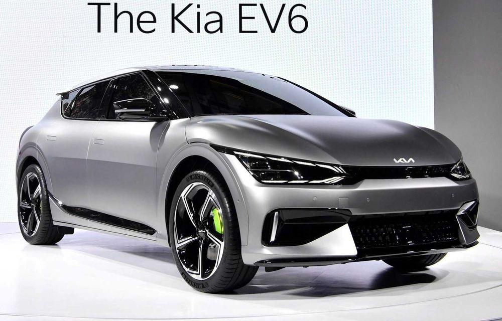 Kia EV6 a înregistrat 21.000 de rezervări în Coreea de Sud în 24 de ore - Poza 1