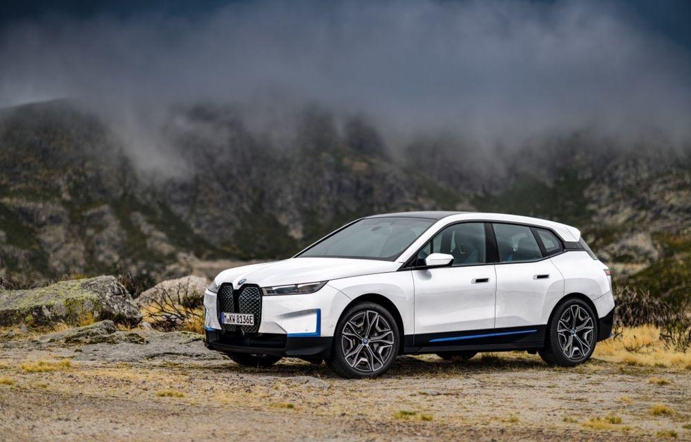 BMW iX ar putea primi o versiune de top cu 560 de cai putere - Poza 1
