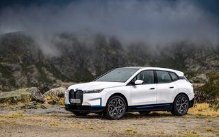BMW iX ar putea primi o versiune de top cu 560 de cai putere