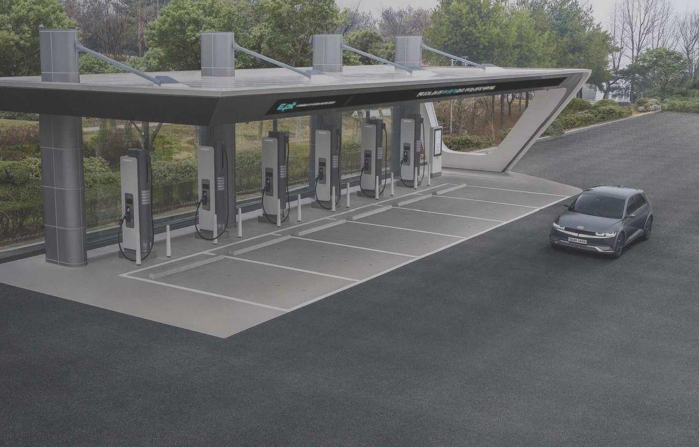 Grupul Hyundai va dezvolta propria rețea de stații de încărcare ultrarapidă pentru mașini electrice - Poza 1