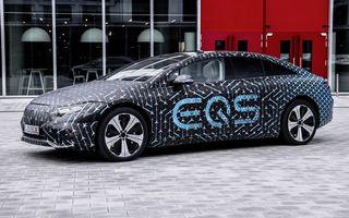 Noul Mercedes EQS va fi lansat în Europa în luna august
