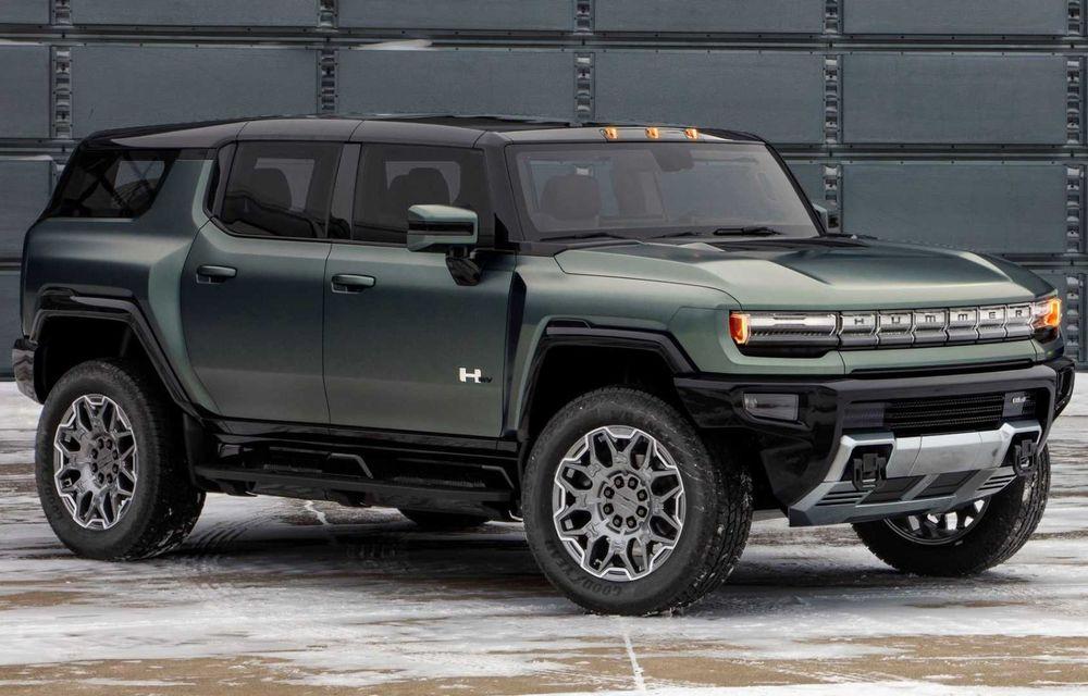 General Motors lansează Hummer EV SUV: până la 842 CP și autonomie de peste 483 kilometri - Poza 1