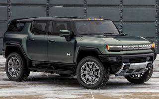 General Motors lansează Hummer EV SUV: până la 842 CP și autonomie de peste 483 kilometri