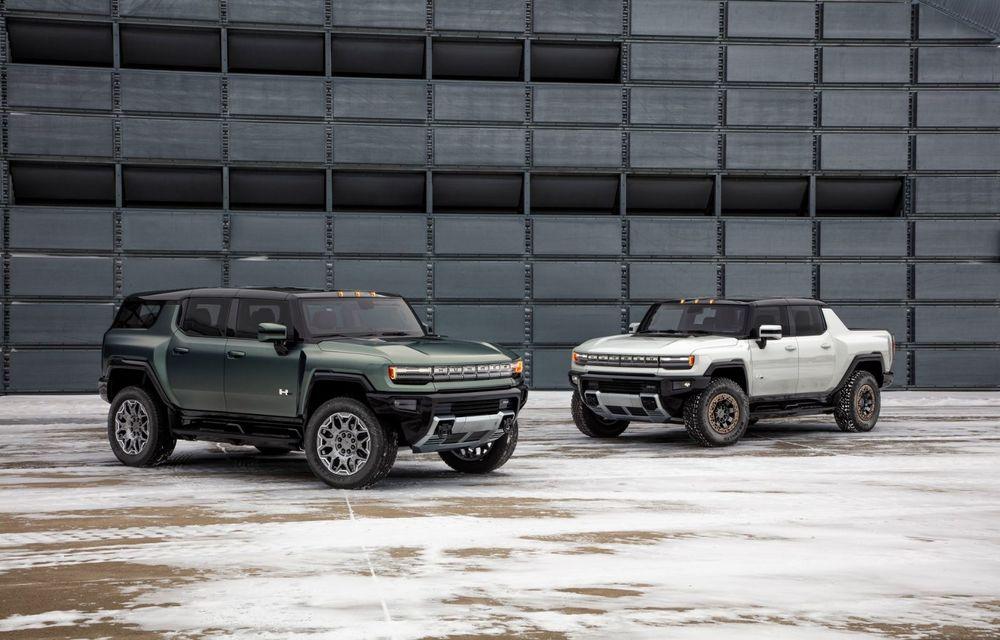 General Motors lansează Hummer EV SUV: până la 842 CP și autonomie de peste 483 kilometri - Poza 2