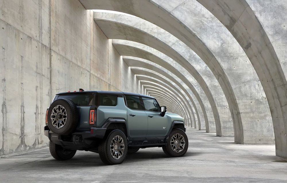 General Motors lansează Hummer EV SUV: până la 842 CP și autonomie de peste 483 kilometri - Poza 3