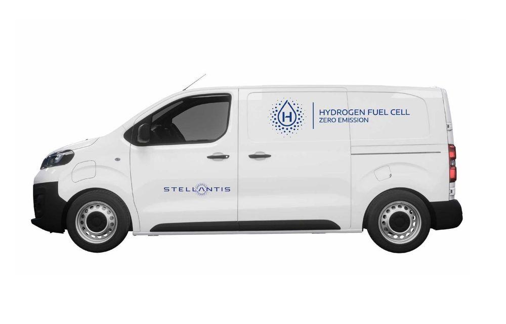 Stellantis va lansa utilitare alimentate cu hidrogen sub brandurile Peugeot, Citroen și Opel - Poza 1