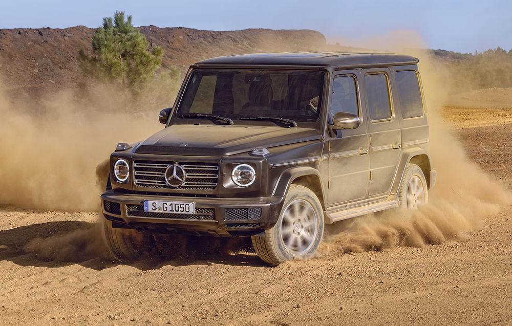 Mercedes-Benz a înregistrat denumirea EQG, deci ne putem aștepta la o versiune electrică a lui Clasa G - Poza 1