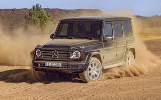 Mercedes-Benz a înregistrat denumirea EQG, deci ne putem aștepta la o versiune electrică a lui Clasa G
