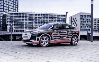 Audi a anunțat că noile Q4 e-tron și Q4 e-tron Sportback debutează în 14 aprilie