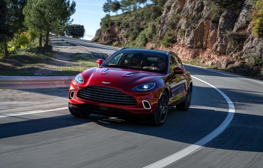 Aston Martin va lansa o versiune nouă pentru DBX în trimestrul al treilea - Poza 1