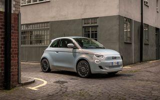 Prețuri Fiat 500 electric în România: start de la 27.200 de euro