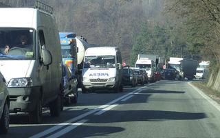 CNAIR anunță finanțare europeană pentru fluidizarea traficului pe DN1, între Comarnic și Predeal