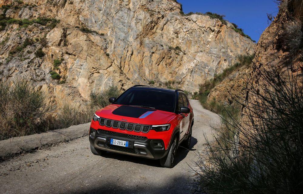 Jeep Compass facelift debutează în Europa cu sisteme care permit un condus semi-autonom de nivel 2 - Poza 5