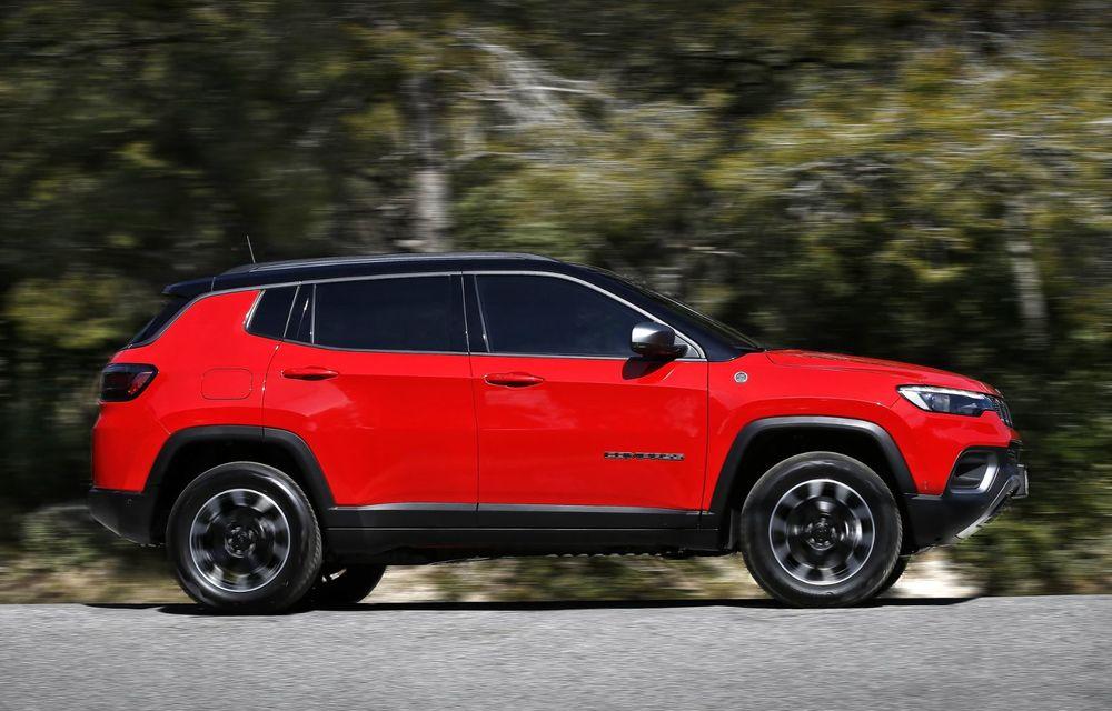 Jeep Compass facelift debutează în Europa cu sisteme care permit un condus semi-autonom de nivel 2 - Poza 4