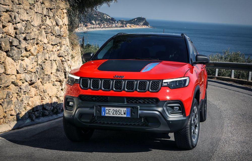 Jeep Compass facelift debutează în Europa cu sisteme care permit un condus semi-autonom de nivel 2 - Poza 3