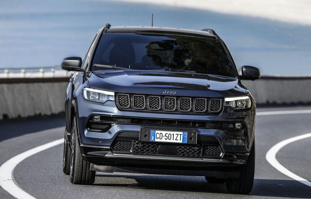 Jeep Compass facelift debutează în Europa cu sisteme care permit un condus semi-autonom de nivel 2 - Poza 10