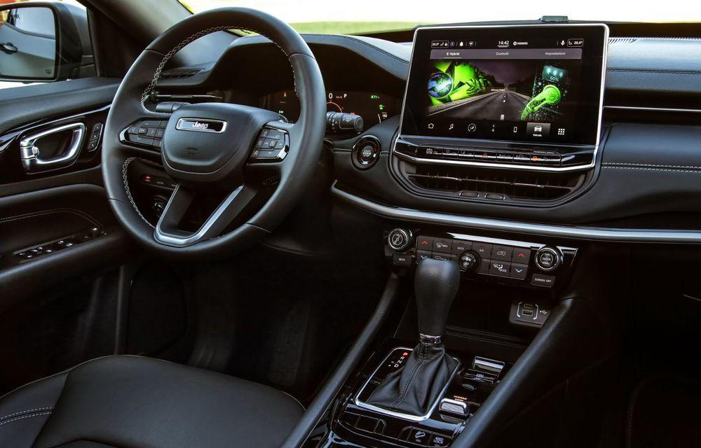 Jeep Compass facelift debutează în Europa cu sisteme care permit un condus semi-autonom de nivel 2 - Poza 19