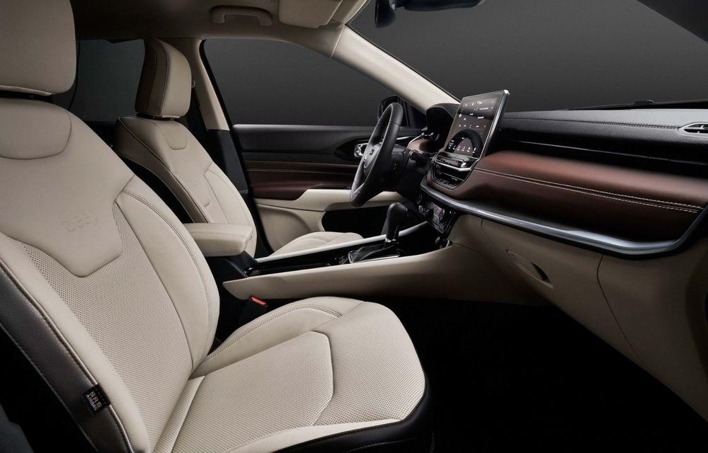 Jeep Compass facelift debutează în Europa cu sisteme care permit un condus semi-autonom de nivel 2 - Poza 21