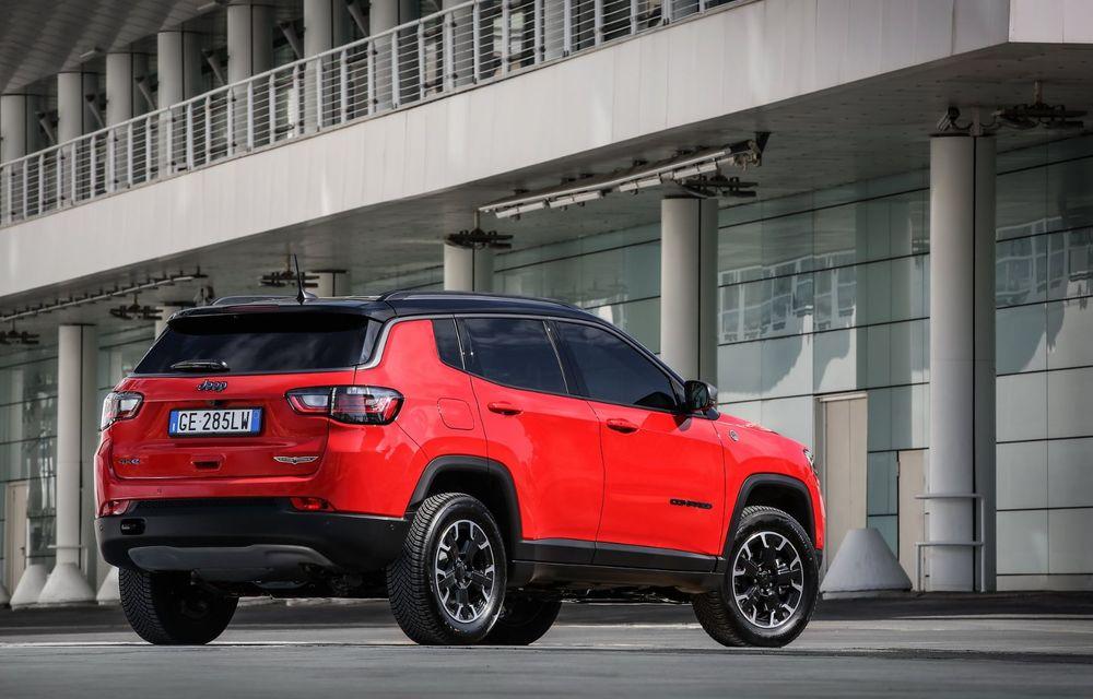 Jeep Compass facelift debutează în Europa cu sisteme care permit un condus semi-autonom de nivel 2 - Poza 7