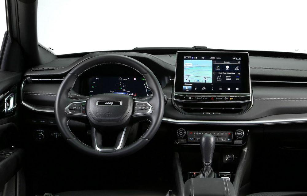 Jeep Compass facelift debutează în Europa cu sisteme care permit un condus semi-autonom de nivel 2 - Poza 20