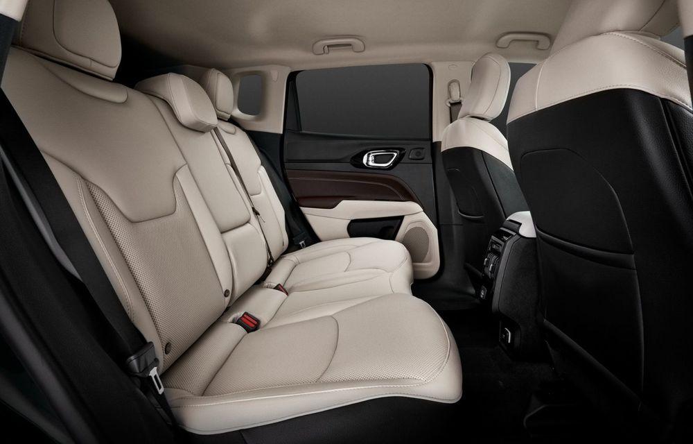 Jeep Compass facelift debutează în Europa cu sisteme care permit un condus semi-autonom de nivel 2 - Poza 22