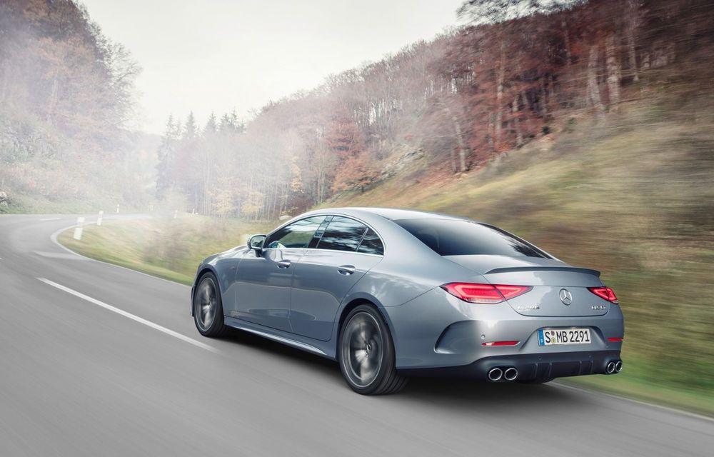 Mercedes-Benz CLS facelift: modificări estetice minore și o gamă extinsă de tapițerii - Poza 18