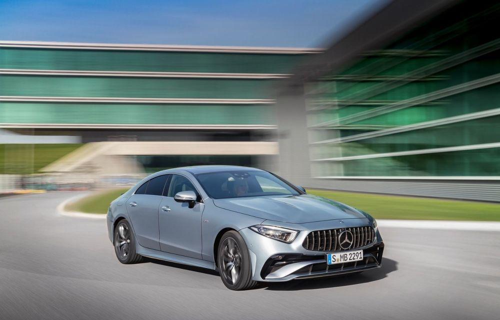 Mercedes-Benz CLS facelift: modificări estetice minore și o gamă extinsă de tapițerii - Poza 17