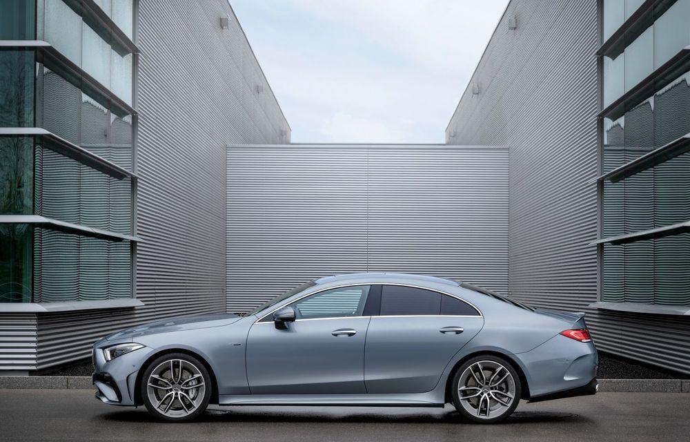Mercedes-Benz CLS facelift: modificări estetice minore și o gamă extinsă de tapițerii - Poza 21