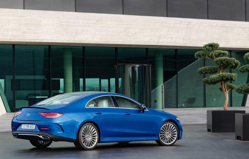 Mercedes-Benz CLS facelift: modificări estetice minore și o gamă extinsă de tapițerii - Poza 14