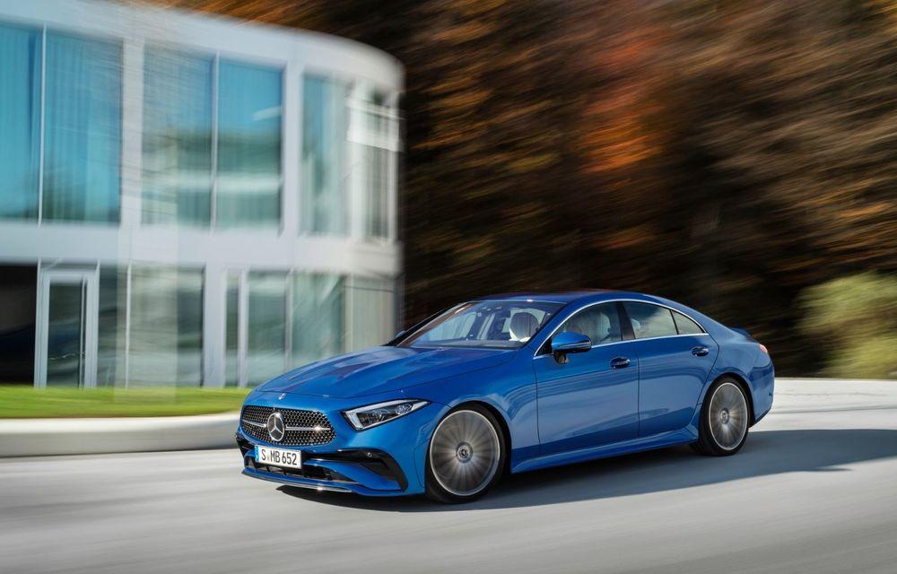 Mercedes-Benz CLS facelift: modificări estetice minore și o gamă extinsă de tapițerii - Poza 4