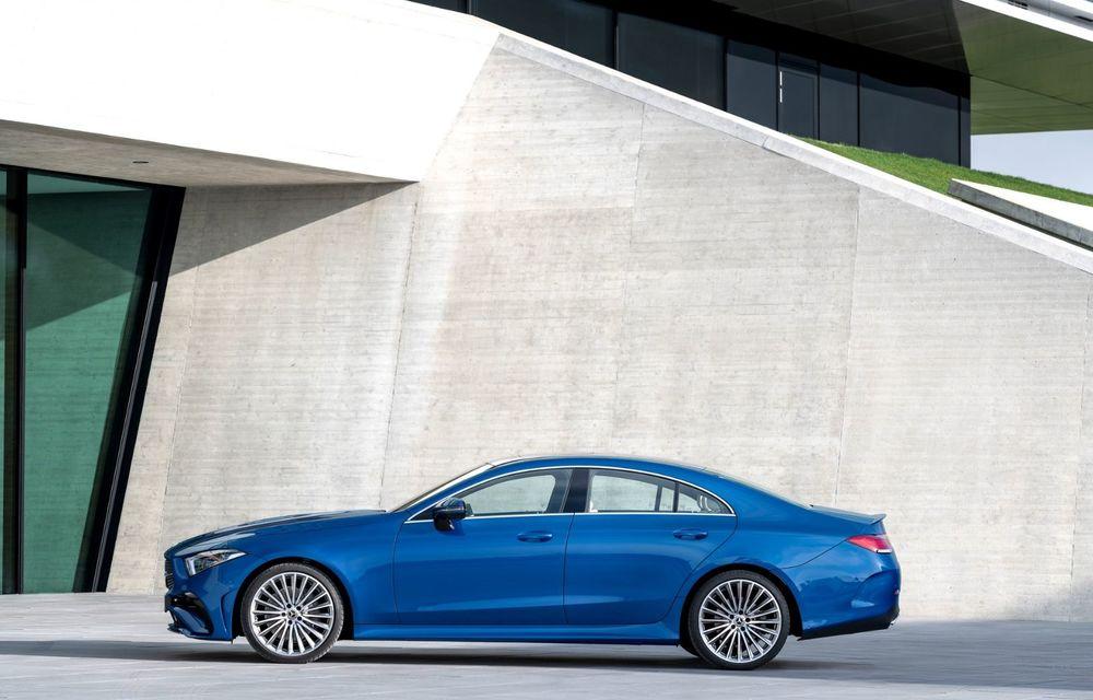 Mercedes-Benz CLS facelift: modificări estetice minore și o gamă extinsă de tapițerii - Poza 11
