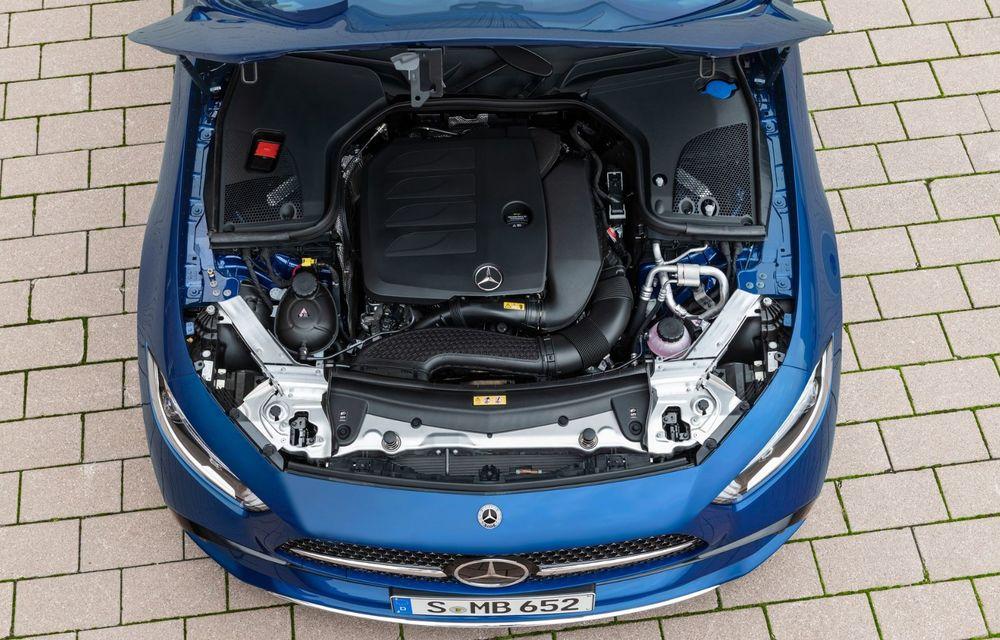 Mercedes-Benz CLS facelift: modificări estetice minore și o gamă extinsă de tapițerii - Poza 15