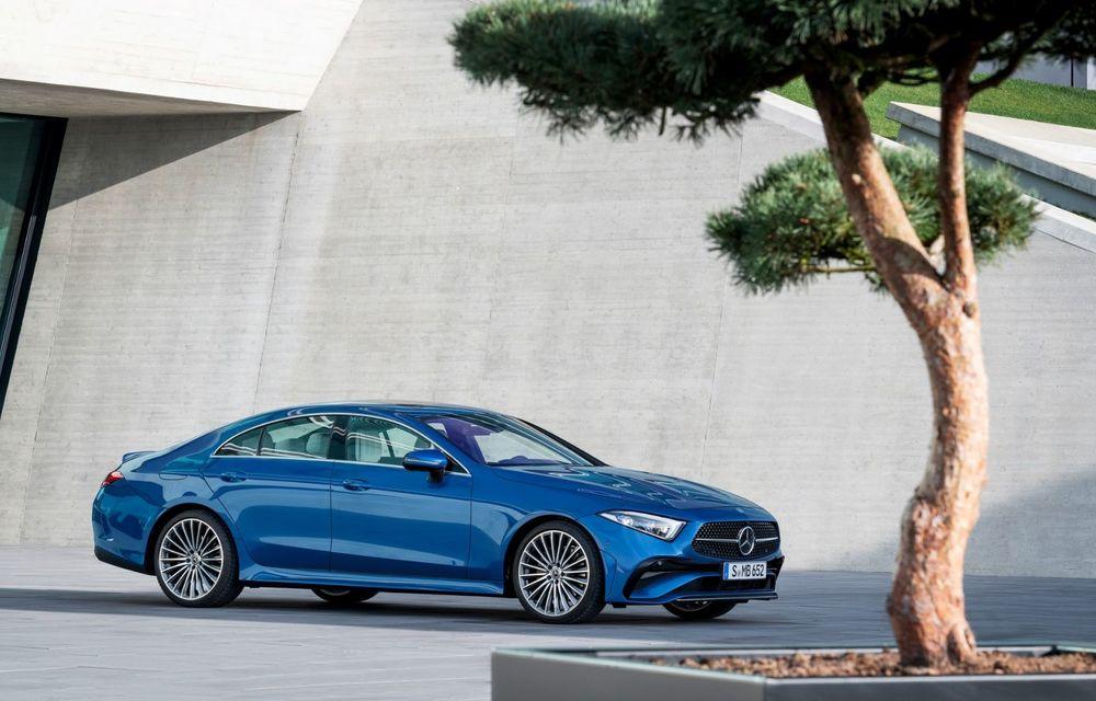 Mercedes-Benz CLS facelift: modificări estetice minore și o gamă extinsă de tapițerii - Poza 7