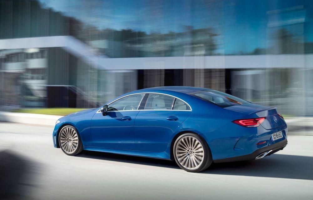 Mercedes-Benz CLS facelift: modificări estetice minore și o gamă extinsă de tapițerii - Poza 3