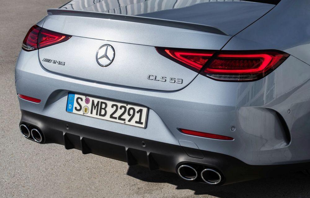 Mercedes-Benz CLS facelift: modificări estetice minore și o gamă extinsă de tapițerii - Poza 23