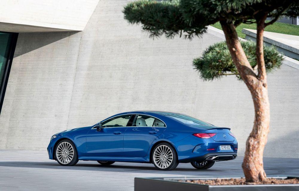 Mercedes-Benz CLS facelift: modificări estetice minore și o gamă extinsă de tapițerii - Poza 8