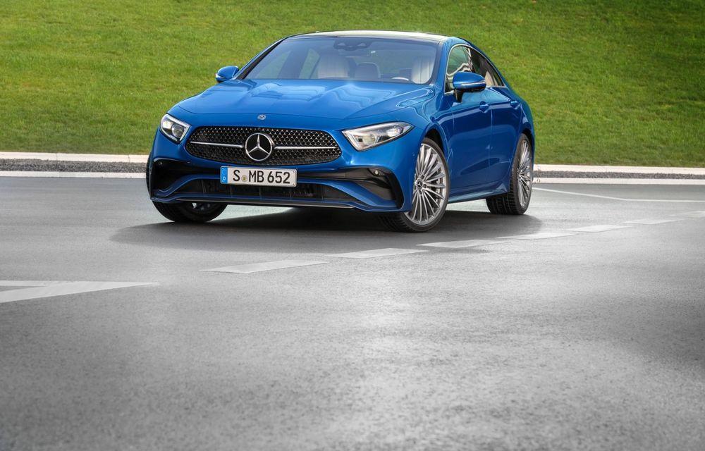 Mercedes-Benz CLS facelift: modificări estetice minore și o gamă extinsă de tapițerii - Poza 5