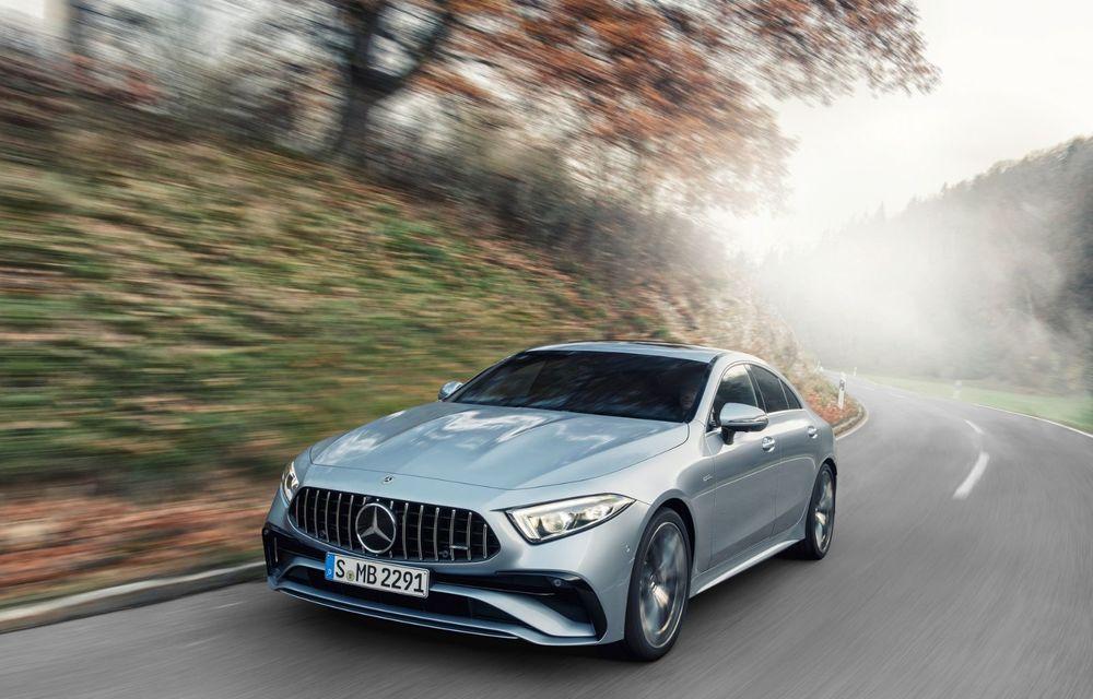 Mercedes-Benz CLS facelift: modificări estetice minore și o gamă extinsă de tapițerii - Poza 19
