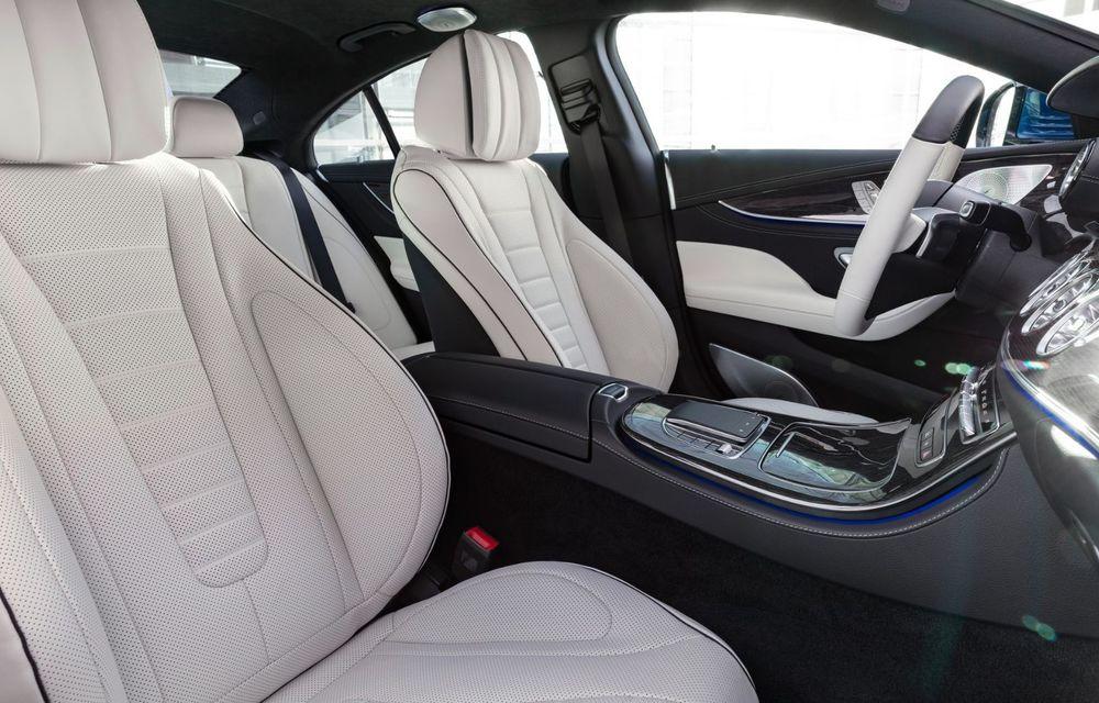 Mercedes-Benz CLS facelift: modificări estetice minore și o gamă extinsă de tapițerii - Poza 28
