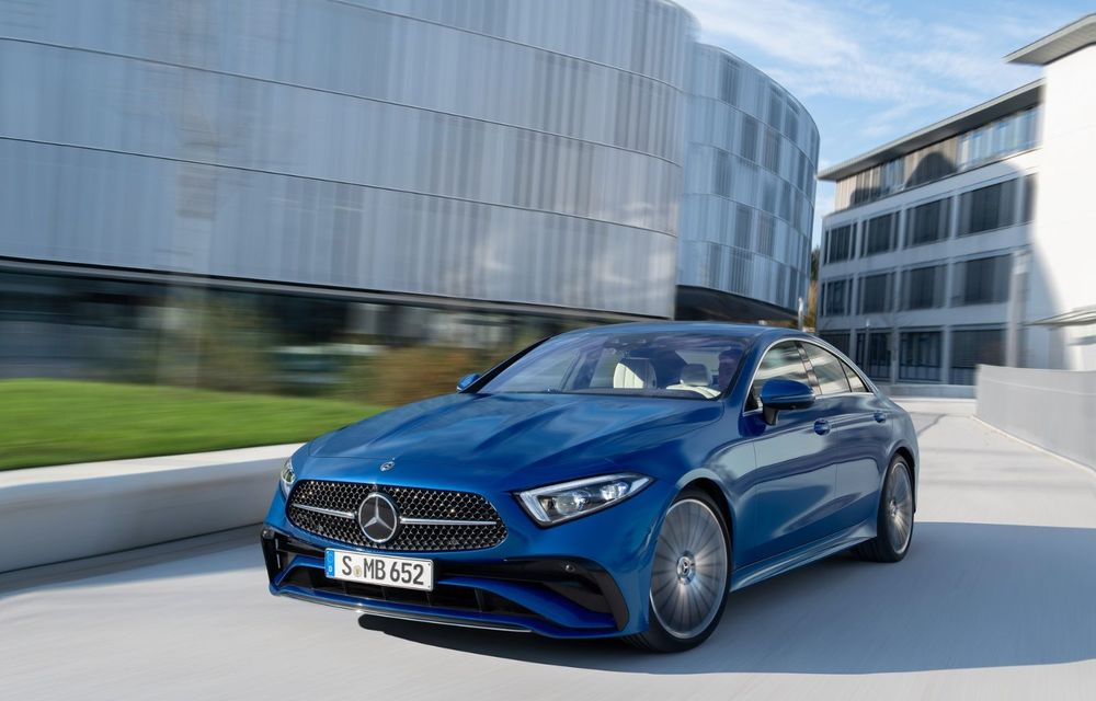 Mercedes-Benz CLS facelift: modificări estetice minore și o gamă extinsă de tapițerii - Poza 10