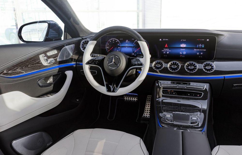 Mercedes-Benz CLS facelift: modificări estetice minore și o gamă extinsă de tapițerii - Poza 26