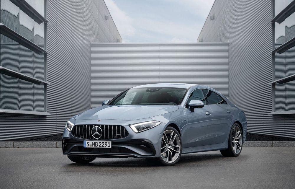 Mercedes-Benz CLS facelift: modificări estetice minore și o gamă extinsă de tapițerii - Poza 22