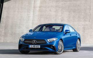Mercedes-Benz CLS facelift: modificări estetice minore și o gamă extinsă de tapițerii