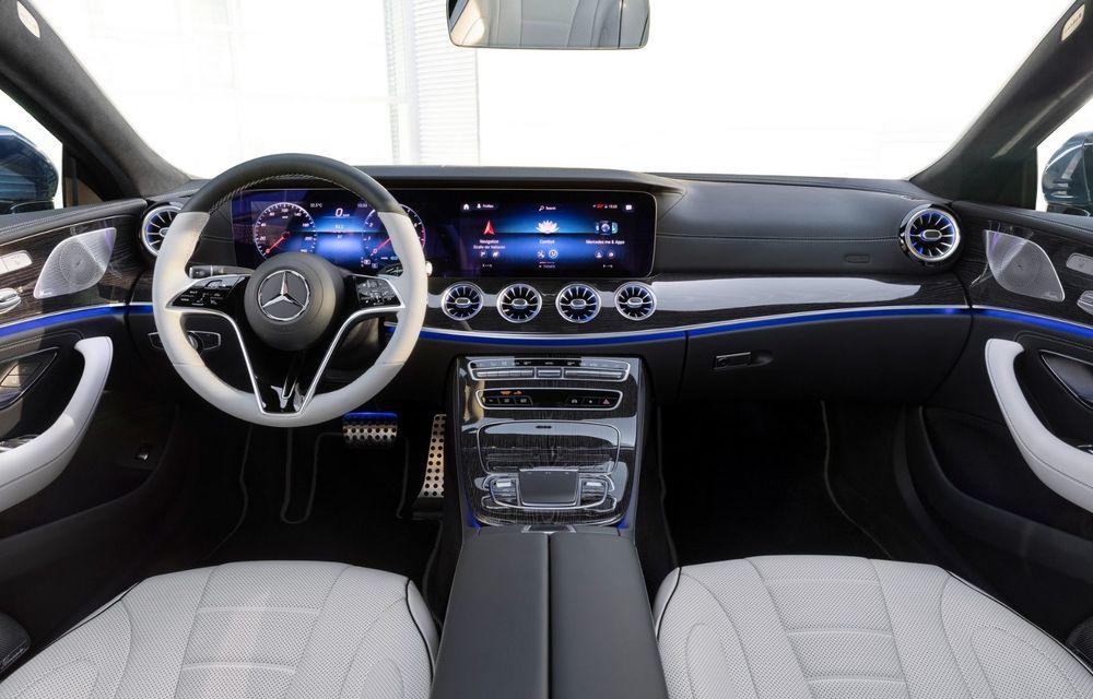 Mercedes-Benz CLS facelift: modificări estetice minore și o gamă extinsă de tapițerii - Poza 25